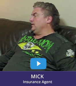 How to figure out life, Testimony by Mick